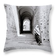 The Old City Of Jerusalem Throw Pillow