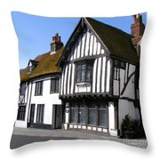 The Old Court Hall Hastings Throw Pillow