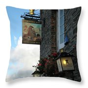 The Old Custom House Throw Pillow