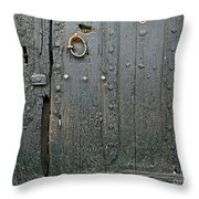 The Old Door Throw Pillow by France  Art