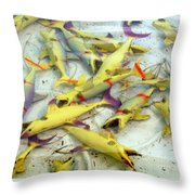 The Old Eating Hole Throw Pillow