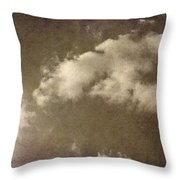 The Old Fireplace And Its Cloud Throw Pillow
