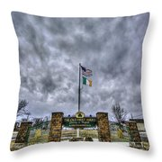 The Old First Ward Throw Pillow