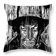 The Old Fisherman, 1899 Throw Pillow