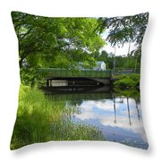 The Old Float Is Gone Throw Pillow
