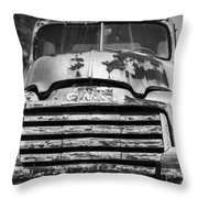 The Old Gmc Truck Throw Pillow