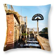 The Old Granary At Wareham Throw Pillow