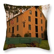 The Old Grist Mill Throw Pillow
