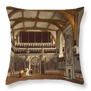 The Old Guard Chamber, The Round Tower Throw Pillow