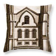 The Old House Of Commons Throw Pillow