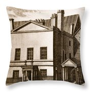The Old House Of Lords Throw Pillow