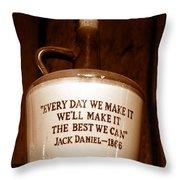 The Old Jug Throw Pillow