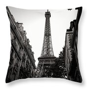 The Old Lady Of The Neighborhood Throw Pillow