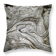 The Old Man By The Sea Throw Pillow