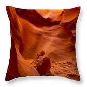 The Old Man Of The Canyons Throw Pillow