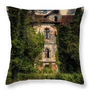 The Old Manor Throw Pillow