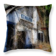 The Old Martin Place Throw Pillow