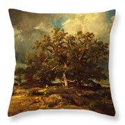The Old Oak Throw Pillow