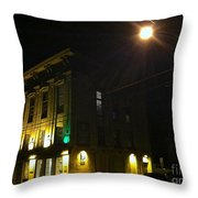 The Old Opera House Throw Pillow