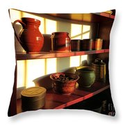 The Old Pantry Throw Pillow by Olivier Le Queinec