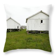 The Old Pierce Point Ranch At Foggy Point Reyes California 5d28140 Throw Pillow