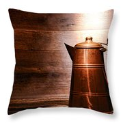 The Old Pitcher Throw Pillow