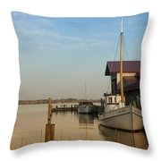 The Old Point - St Michaels  Throw Pillow