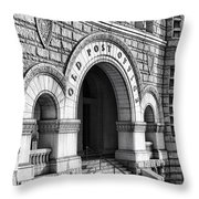 The Old Post Office Pavilion  Throw Pillow by Olivier Le Queinec