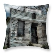 The Old Post Office Throw Pillow