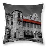 The Old Public Market Throw Pillow