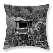 The Old Rodeo Grounds Throw Pillow