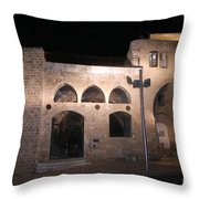 The Old Saraya And Soap Factory Throw Pillow