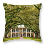 The Old South Version 2 Throw Pillow