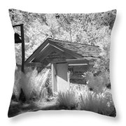 The Old Spring House Throw Pillow