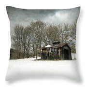The Old Sugar Shack Throw Pillow