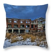 The Old Tannery Throw Pillow