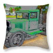 The Old Thirty One Throw Pillow