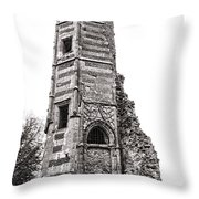 The Old Tower Throw Pillow