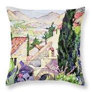The Old Town Vaison Throw Pillow