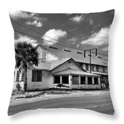 The Old Victory Groves Packing House Throw Pillow