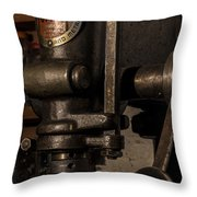 The Old Workshop Throw Pillow by Andrew Pacheco