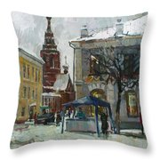 The Old Yaroslavl Throw Pillow