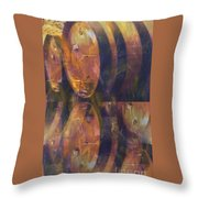 The Older The Better Throw Pillow
