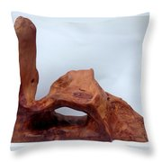 The Oldest Wood In The World Throw Pillow