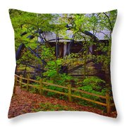The Ole Mill Throw Pillow
