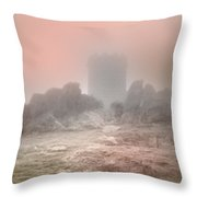 The One Tower Throw Pillow