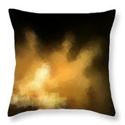 The Onlookers Throw Pillow