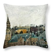 The Only Good Thing About The Highway Is The Scenery Throw Pillow