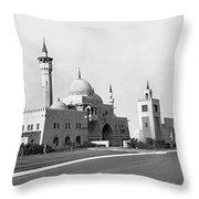 The Opa Locka City Hall Throw Pillow