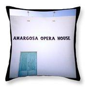The Opera House Throw Pillow